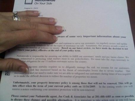 insurance letter 2